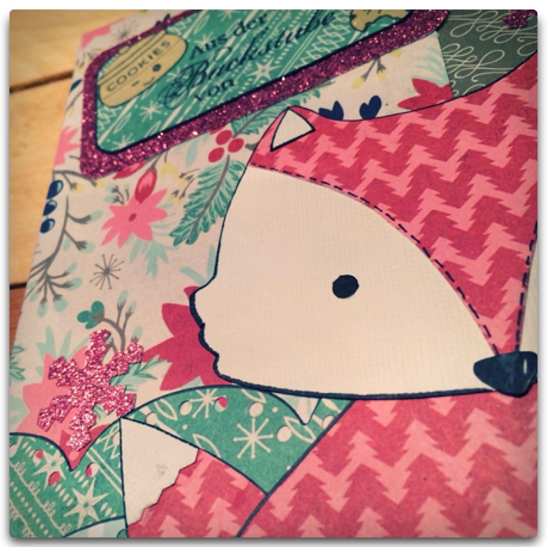 Scrapbook-Keks-Rezept-Buch ***File Folder Mini Album*** Tutorial [deutsch]