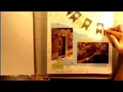 Scrapbooking Teil 1 - Ein Gästebuch