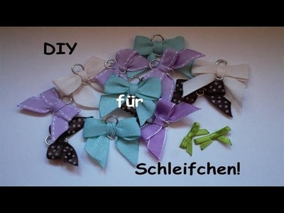 [TUTORIAL] DIY Schleifen binden