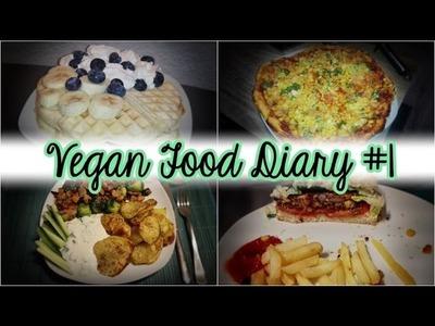 Vegan Food Diary #1 - Nicht gesund, aber LECKER !