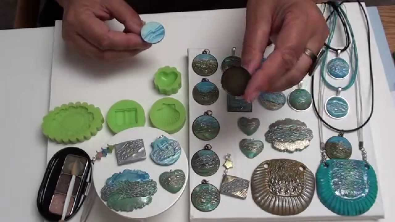 13) (Tuto Fimo) Unterwasserwelten, Schmuck Design Molds Polymer Clay