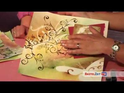 Bastelzeit TV 44 - Scrapbooking mit Glimmermist