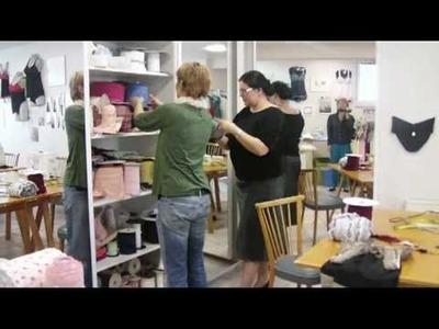 Dessous-nähen Kursteilnehmerinnen im Dessouskurs