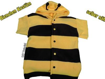 DIY | Bienen Kostüm für Kinder selber nähen I Nähen für Anfänger | Tutorial