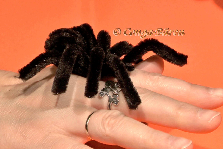 DIY Halloween Spinne - halloween spider