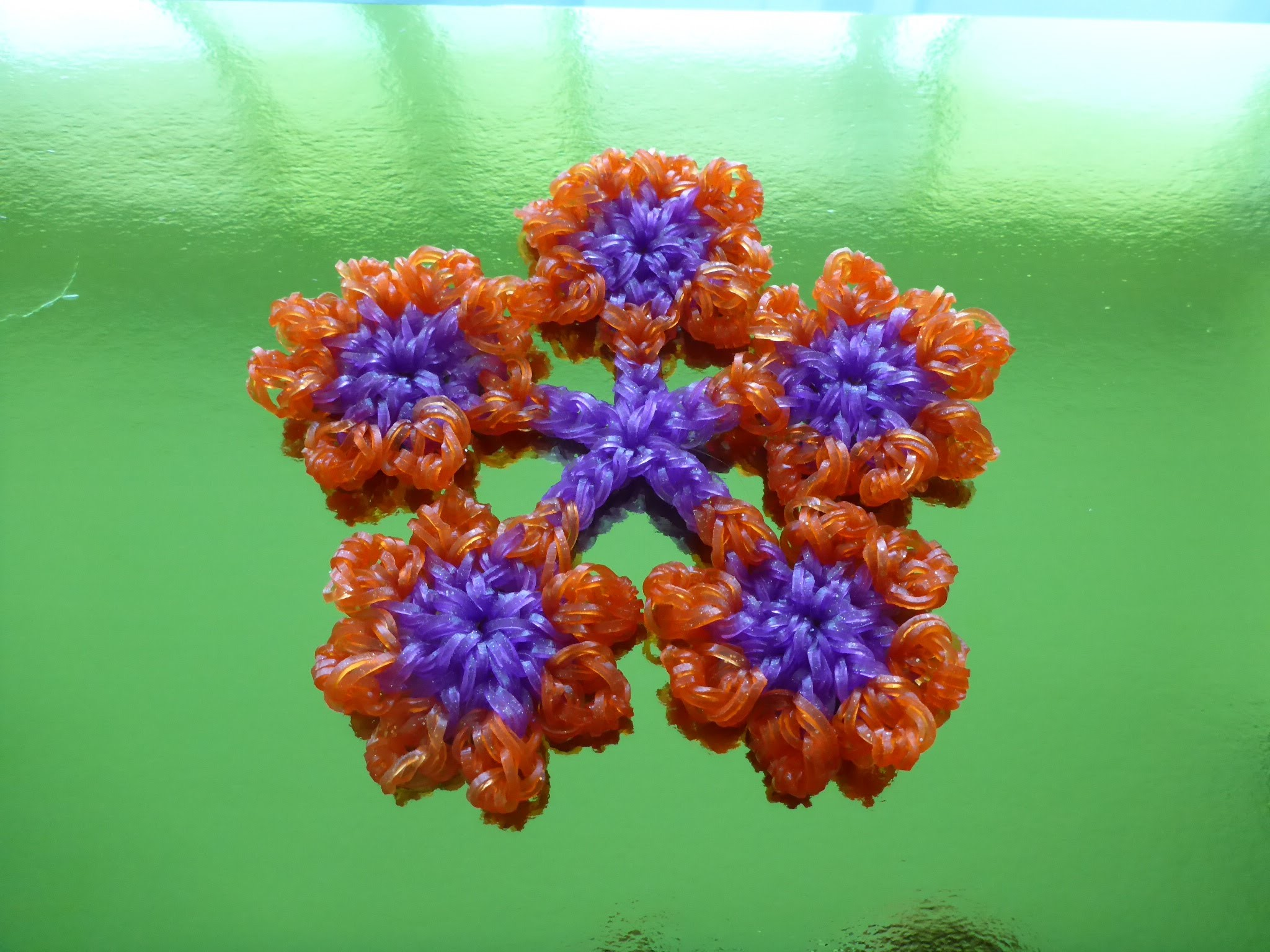 DIY Loom Bands Blumen, Geschenk zum Muttertag, Mother´s day Gift Ideas Flower, Anleitung, Tutorial
