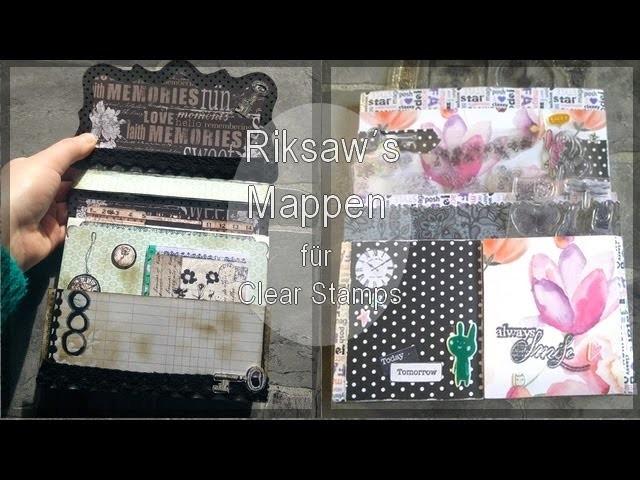 DIY [Stempelmappen] für Clear Stamps