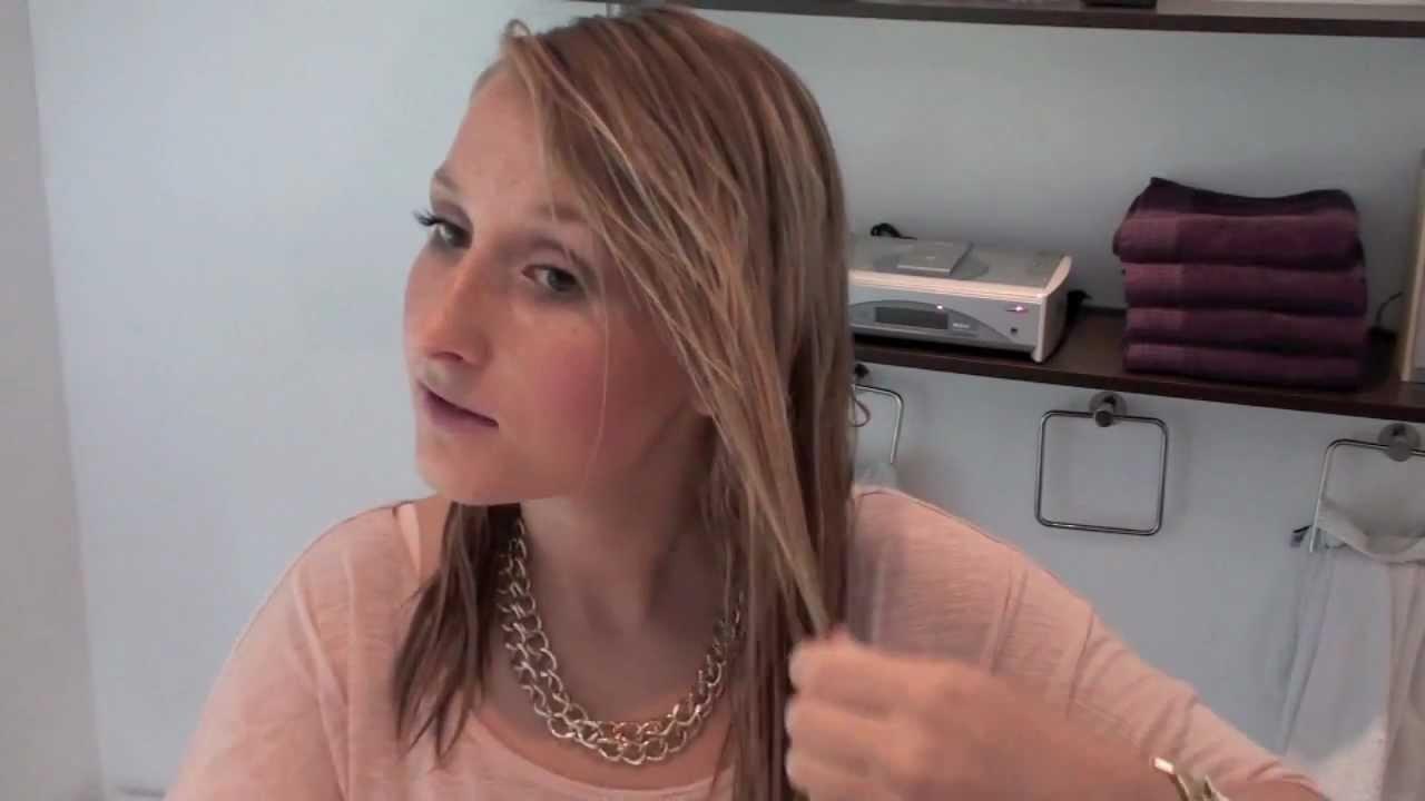 DIY Tutorial: Dip Dye. Ombre Hair mit Malkreide