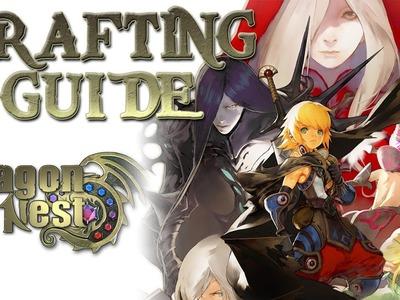 Dragon Nest EU - Crafting Tutorial [Guide] [Deutsch.German]