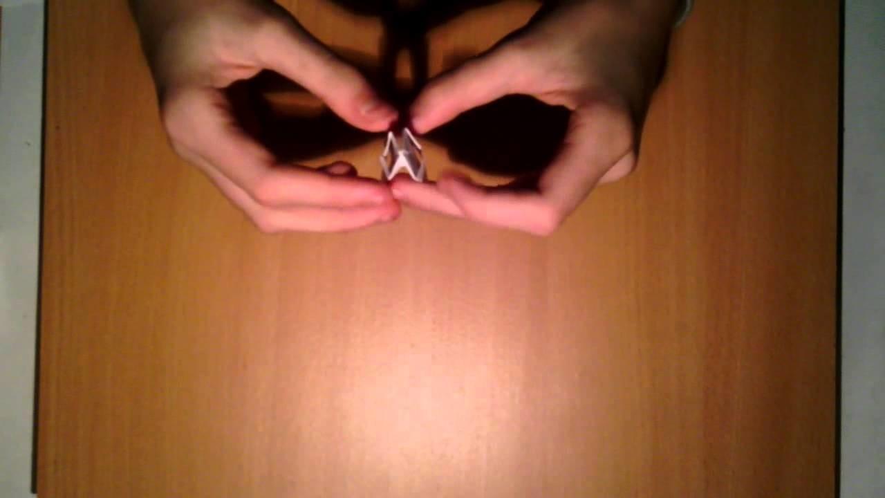 Einen Origami Ring selbst basteln - Schmuck aus Papier selber machen