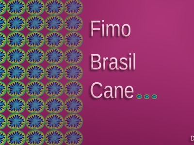 FIMO Brasil-Cane: Polymer Brazil Colors - Tutorial [HD.deutsch]