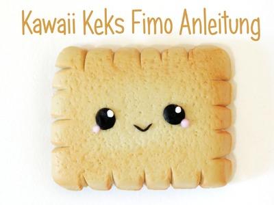 [Fimo Friday] Kawaii Leibniz Keks Fimo Anleitung| Polymer Clay | Anielas Fimo