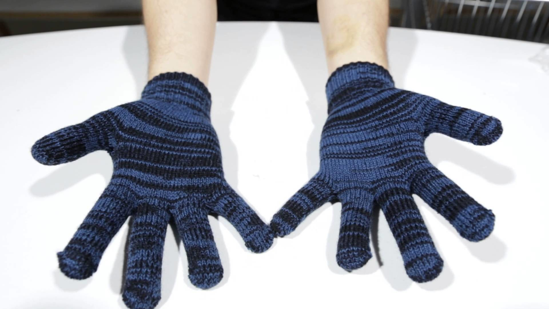 Iriedaily Handschuhe - Gritty Knit Gloves night sky - Men