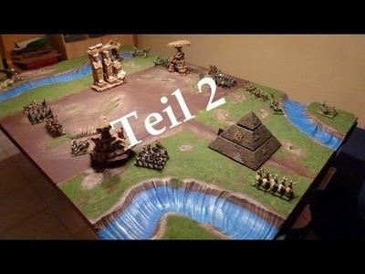 Let´s Craft #26 - modulare Spielplatte selbst bauen Teil 2 für Warhammer und andere Tabletops