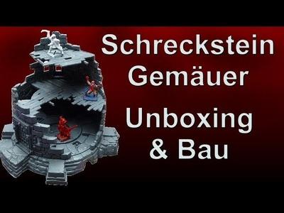 Lets craft # 54 Warhammer Schreckstein Gemäuer Unboxing & Bau