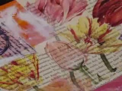 Mixed Media-Art Journal-02-Cover (deutsche Version.German version)