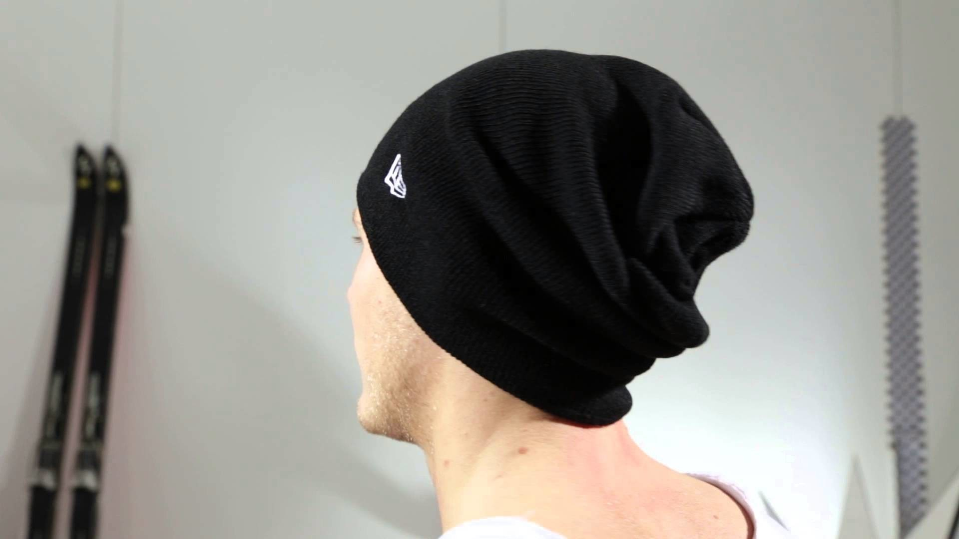 New Era Mützen - NE Original Basic Long Knit black - Men