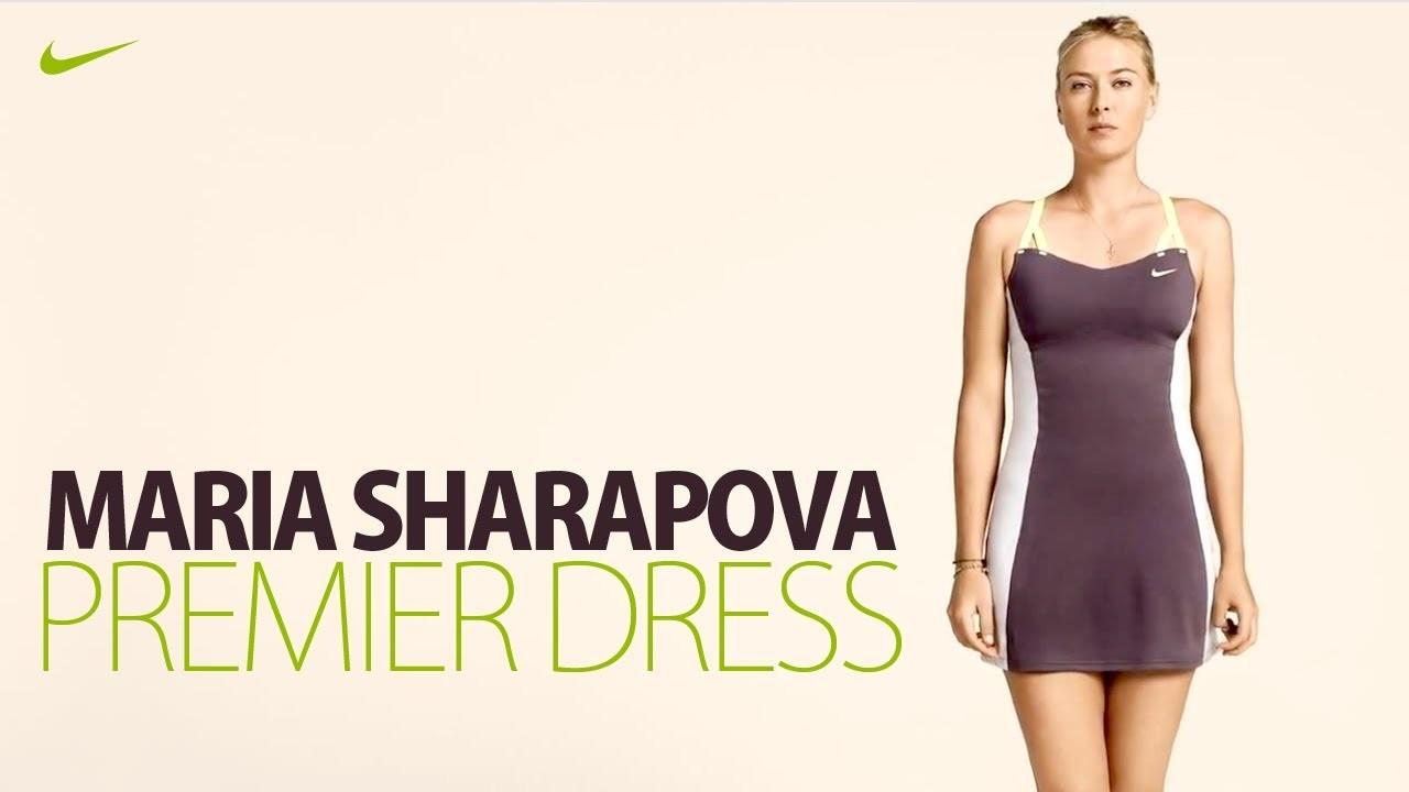 Nike Maria Sharapova Premier Tennis Dress
