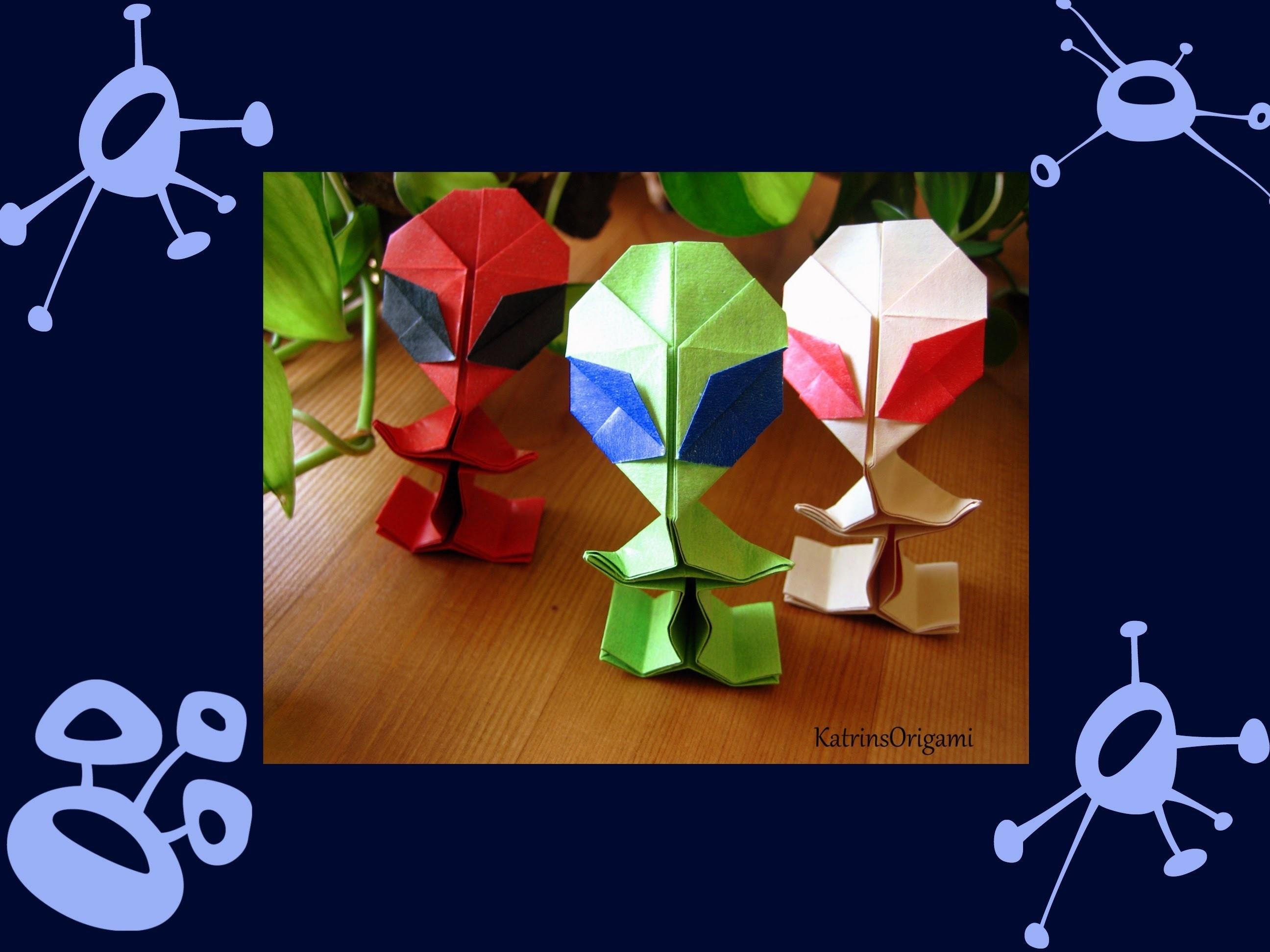 Origami ✲ Alien ✲