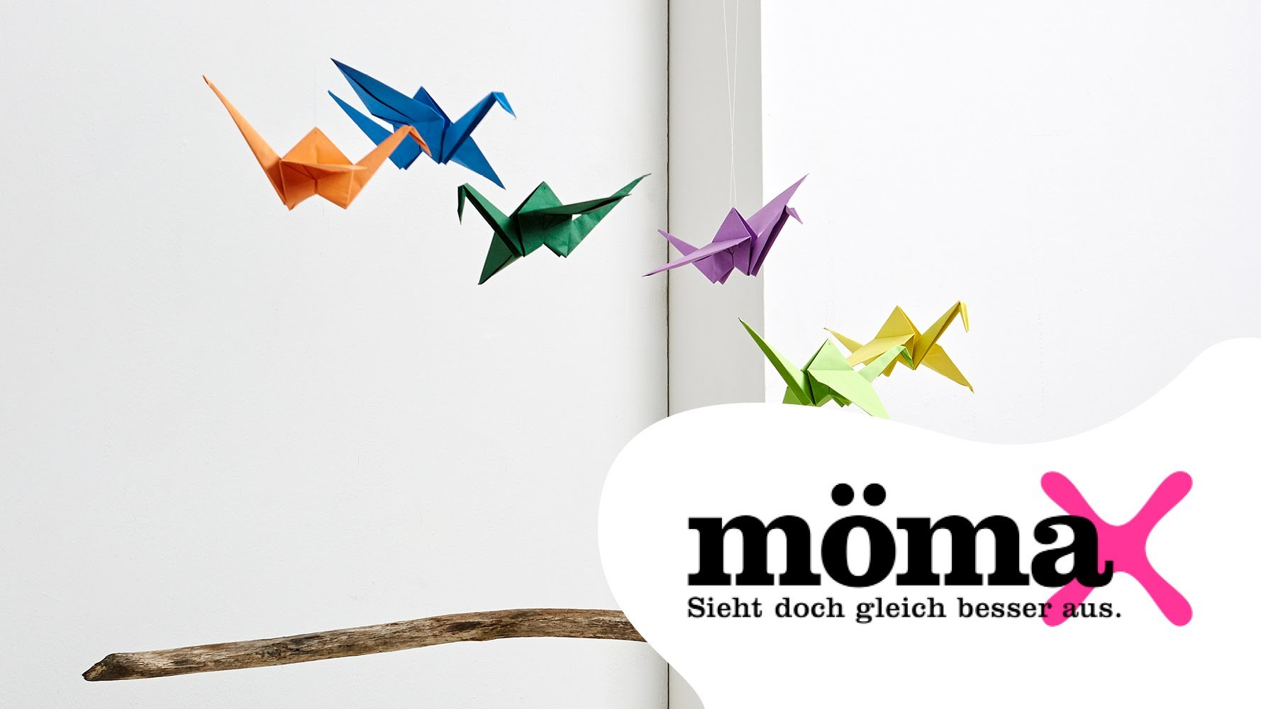 Origami - Anleitung: Kranich falten