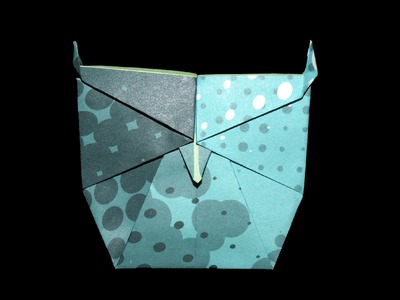 Origami Eule - Faltanleitung (Live erklärt)