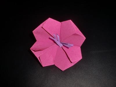Origami Kirschblüte: Cherryblossom - Tutorial [HD]