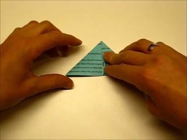Origami Schmetterling 70 Jahre HS Bezau