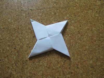 Origami - Shuriken (Wurfstern) [HD] [HQ]