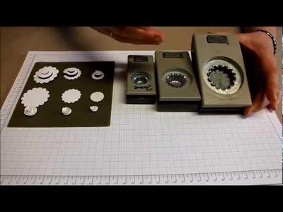 Papierrosen selbstgemacht mit Stampin' Up! Stanzern- Anleitung-Tutorial