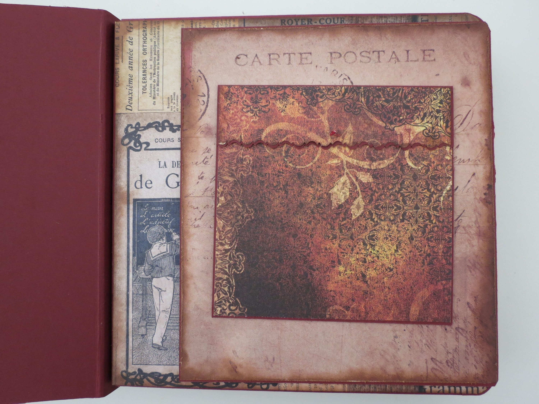 Scrapbook Album selber machen #2 * Gestaltung der 1. Seite