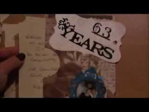 Scrapbook Geburtstagskarte Herbie
