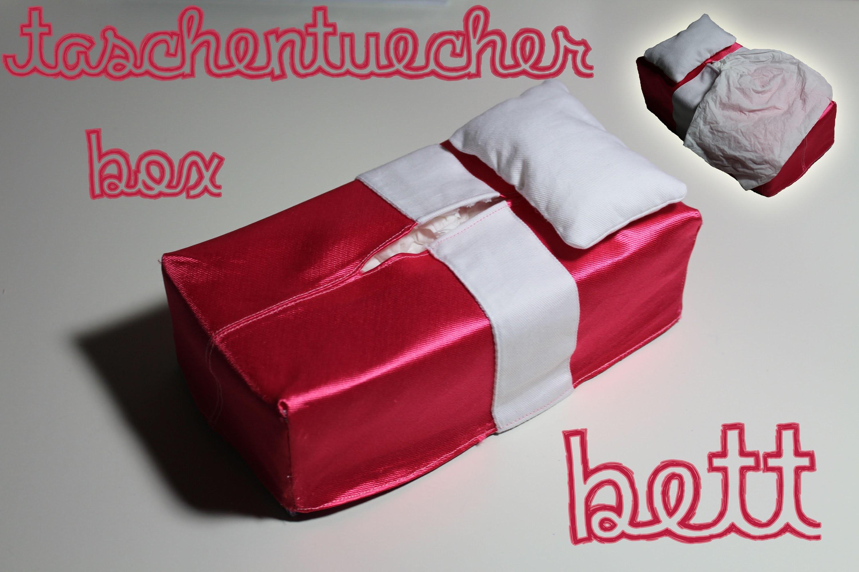 Sofa- oder Bettüberzug für Tücherbox nähen - DIY Tutorial. Nähanleitung