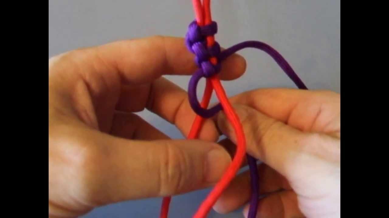 ThinLine Paracord-Armband ( Bracelet ) knüpfen