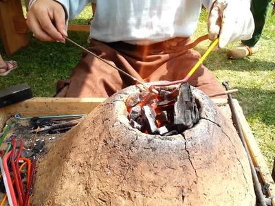 Viking Handcraft: Making Glass Beads