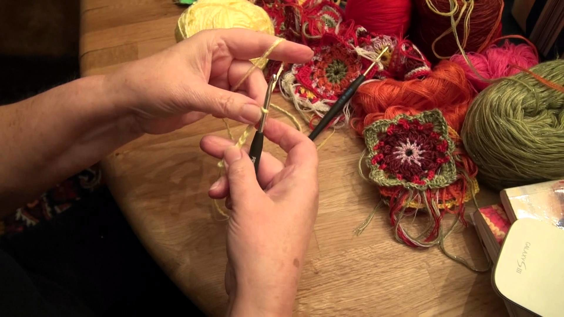 Crochet with LANDDERFEEN - How to - start crochet - tutorial - beginning