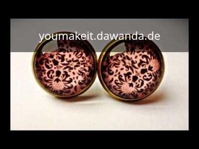Dawanda Shop DIY Schmuck selber machen Ohrringe und Ketten