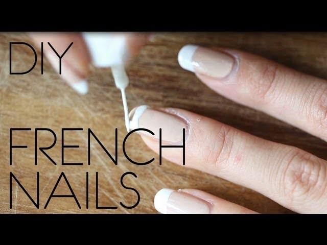 DIY FRENCH NAILS - leicht selber machen!