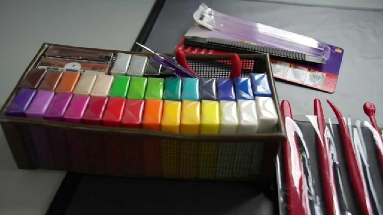 Fimo für Anfänger Grundausstattung + Werkzeug Polymer Clay