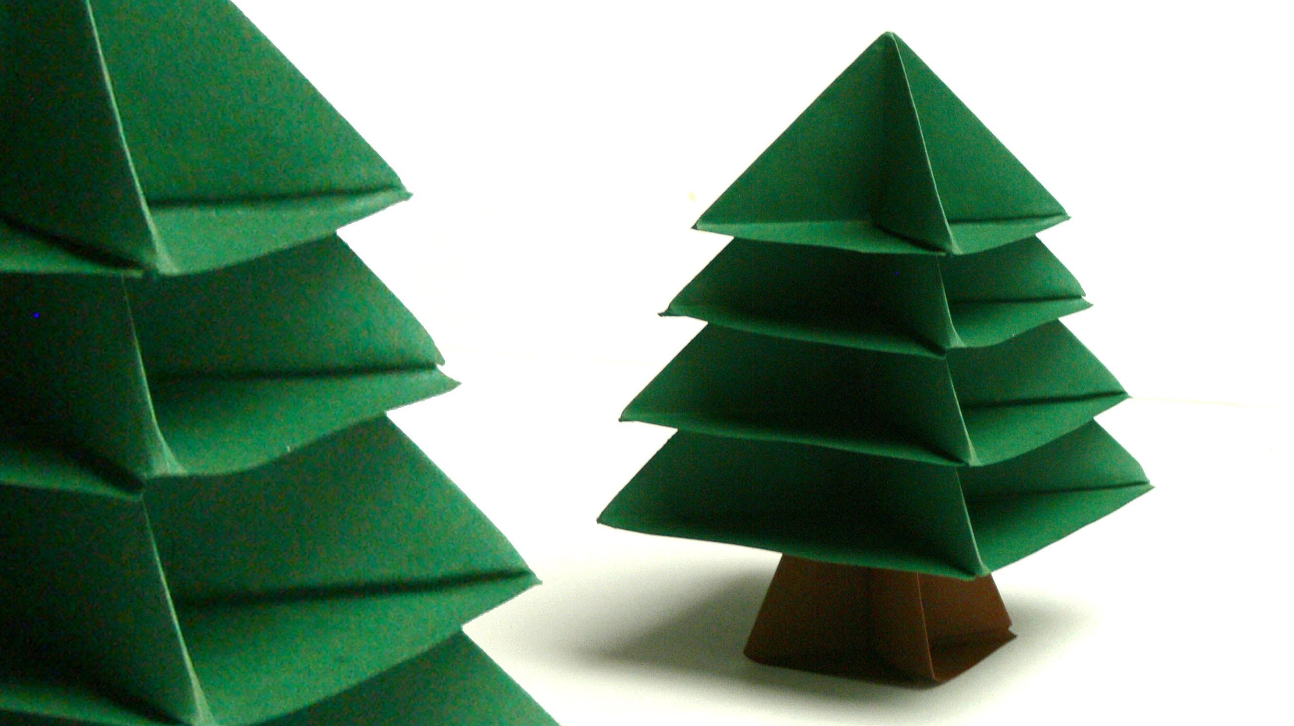 modulares origami tannenbaum christmas tree my crafts. Black Bedroom Furniture Sets. Home Design Ideas