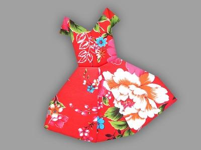 Origami Kleid (Bride): Faltanleitung [HD]