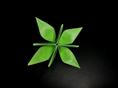Origami Krokus Blume: Crocus - Tutorial [HD]