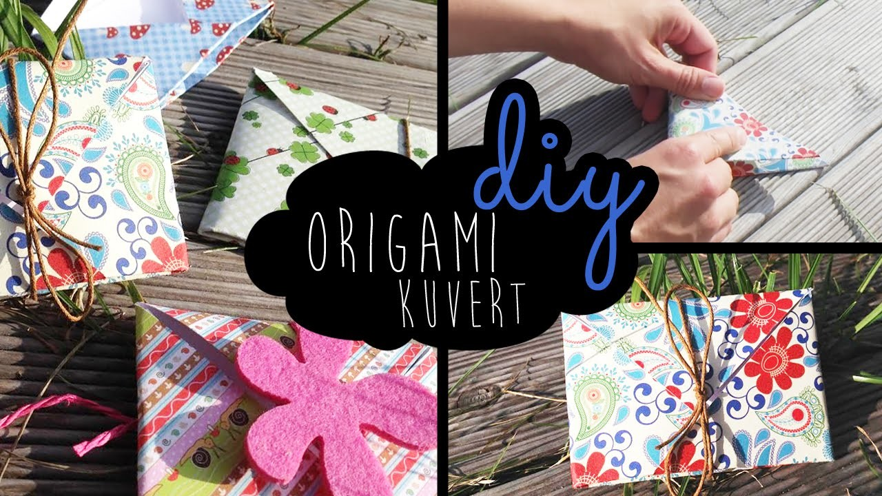 Origami Kuvert Envelope DIY