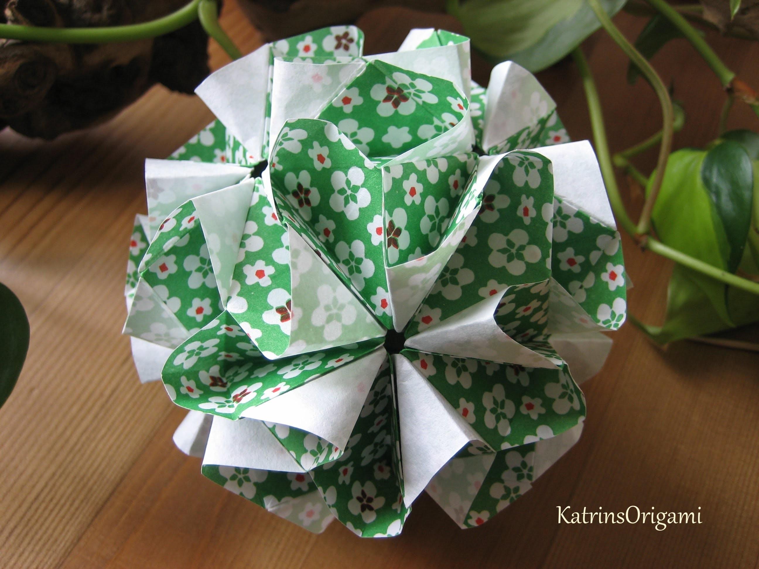 Origami ❀ Tsunami ❀ Kusudama