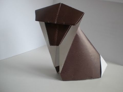 Origamianleitung: Affe