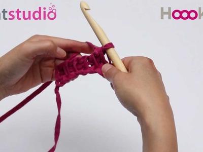 Tunische Steek. Tunesian Crochet. Tunisch Häkeln