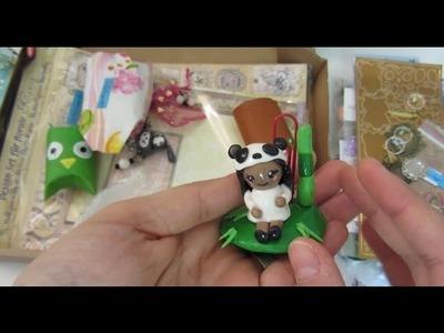 [VLOG] Tauschpäckchen mit Jasmin & Gewinn von Teuflisch Schön :D