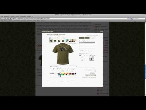 Www.Design-T-Shirts.de - Your T-Shirt - Using the Spreadshirt Designer