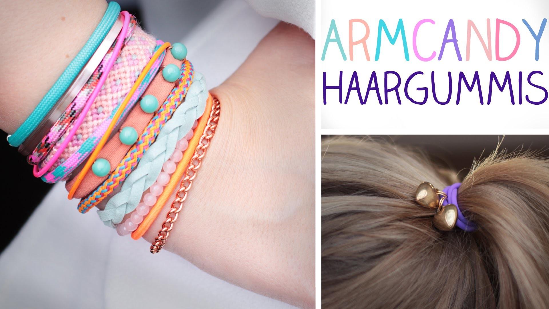 DIY Armcandy Haargummis - Haarbänder, die zu allem passen!
