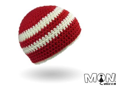 Einfache Mütze häkeln - Simple Beanie