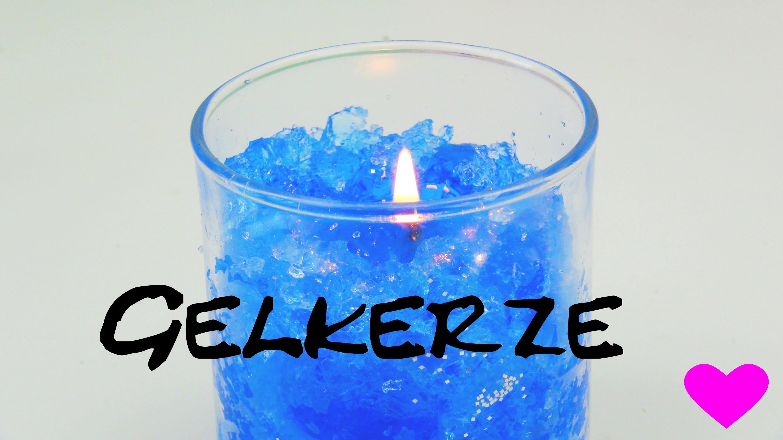 Gelkerzen selber machen. Gelkerze mit Verzierungen (Versuch) | deutsch